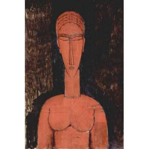 Unbranded Red bust,amedeo modigliani,60x40cm