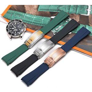 Klockspänne Metall Spänne passar till Rolex Submariner, GMT och Omega seamas