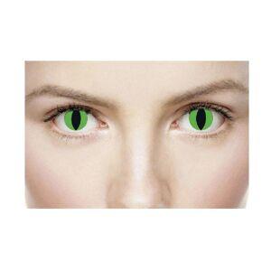 Xtreme Eyez Främmande 1-dagskostymlinser One Size Grön / svart