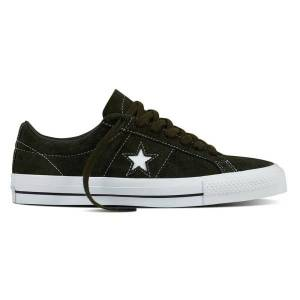 Converse One Star 74 Premium Suede Svarta 39.5