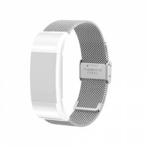Armband Meshlänk Fitbit Charge 2 Silver