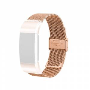 Armband Meshlänk Fitbit Charge 2 RoseGold