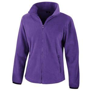 Result Dam / Damer Core Fashion Fit Fleece Top Xl Lila