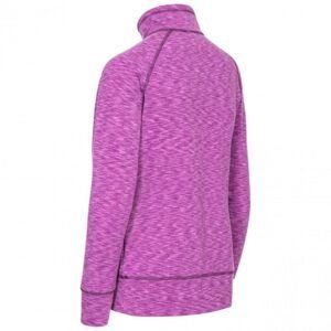 Trespass Dam / Moxie Halv Zip Fleece-topp Xl Purple Orchid Marl