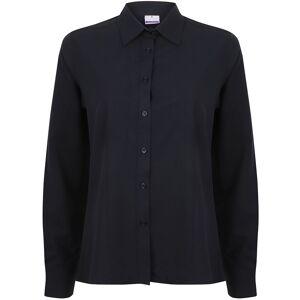 Henbury Dam / Damer Wicking Långärmad arbetsskjorta XL Lila