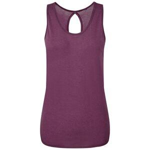 TriDri Kvinnor / Dam Tie Back Vest L Plommon
