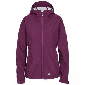 Trespass WomensLadies Aviana Soft Shell Jacka XS Potent Purple