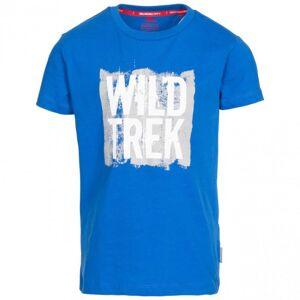 Trespass Childrens Boys Zealous T-shirt 3-4 Years Blue Blue 3-4 Years