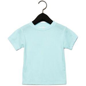Bella + Canvas Barn-triblend Kortärmad T-shirt 4 Years Ice Blue