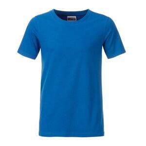 James And Nicholson Pojkar Basic T-shirt S Koboltblå
