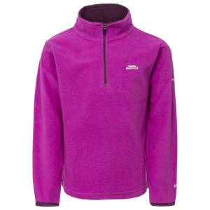 Unbranded Trespass childrens/girls sybil micro fleece purple orchid uttp37