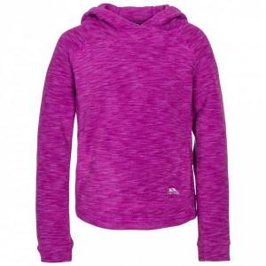 Unbranded Trespass childrens girls moonflow hooded fleece purple orchid ut