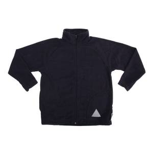 Unbranded Result core childrens/kids micron fleece jacket navy blue utbc85