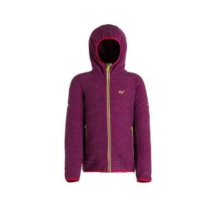 Unbranded Regatta childrens/kids totten fleece camellia purple utrg3921