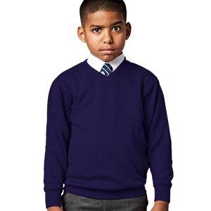 Jerzees Schoolwear Jerzees Schoolgear Barn-tröja med V-ringning 5-6 Winter Emerald