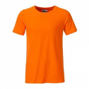 James and Nicholson Pojkar Basic T-shirt XXL Orange