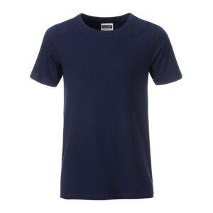 James and Nicholson Pojkar Basic T-shirt M Marin