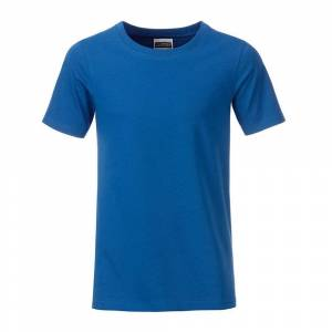 James and Nicholson Pojkar Basic T-shirt XL Kungsblått