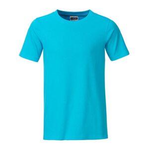 James and Nicholson Pojkar Basic T-shirt S Turkos