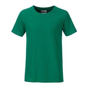James and Nicholson Pojkar Basic T-shirt XS Irish Green