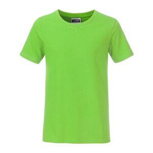 James and Nicholson Pojkar Basic T-shirt XXL Limegrön