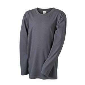 James and Nicholson Barn / barn Medium långärmad T-shirt S Grafi