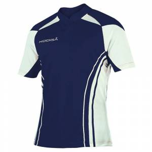 KooGa Boys Junior Stadium Match Rugby Shirt S Navy / White