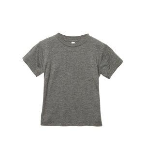 Bella + Canvas Barn-triblend kortärmad T-shirt 4 Years Grå tribl