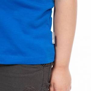 Trespass Barns pojkar ivrigt T-shirt 9-10 Years Blå