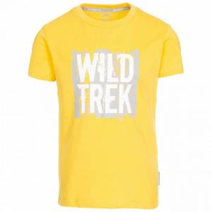 Trespass Barns pojkar ivrigt T-shirt 7-8 Years Röd