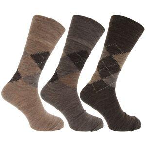 Universal Textiles Traditionella argyle mönster för icke-elastiska lammar för ullbl