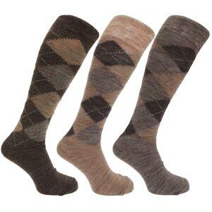 Universal Textiles Traditionella argyle mönster för lång längd lammar ullblandnings