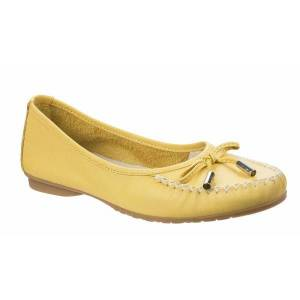 Unbranded Riva womens/ladies ceres lace up shoe yellow utfs5950
