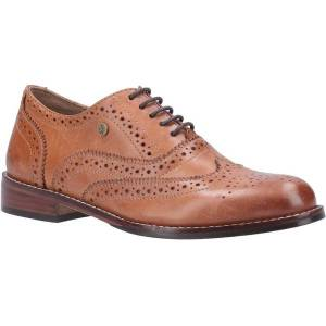 Unbranded Hush puppies womens/ladies natalie lace up leather brogue shoe t