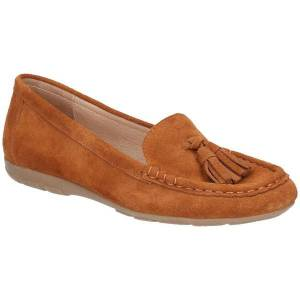 Unbranded Hush puppies womens/ladies daisy slip on leather moccasin shoe t