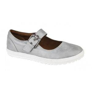 Unbranded Cipriata womens/ladies florence buckle bar casual flat shoes dis