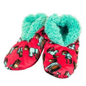 Unbranded Lazyone womens don´t do morning fuzzy slippers red utbz3253