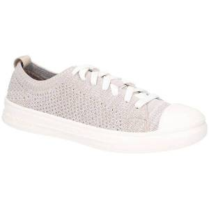 Unbranded Hush puppies womens/ladies schnoodle lace up casual trainers tau