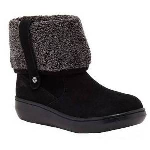 Unbranded Rocket dog womens/ladies sugar mint suede ankle winter boot blac