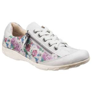 Unbranded Fleet & foster womens/ladies juniper lace zip up casual trainers