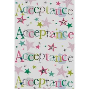 Unbranded Se open acceptance individually wrapped cards (pack of 24) multi