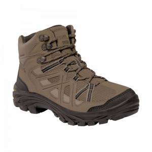 Unbranded Regatta womens/ladies burrell ii hiking boots pale brown/umbra g