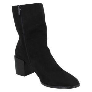 Spot On Kvinnor / damer Chunky Blocked Heel Ankle Boots 7 UK Sva