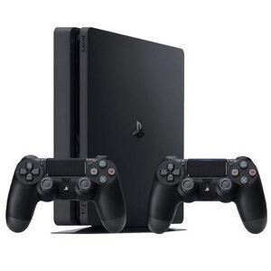 Sony PlayStation 4 Slim, 1TB, Jet Black (inkl. 2nd DualShock 4 V