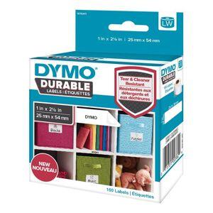 Dymo LW Durable small multi-purpose 25mm x 54mm liten box, 160 e