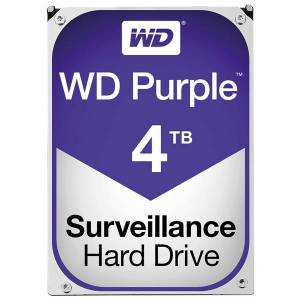 "Western Digital Wd purple 4tb sata 6 gb/s 3,5"", 64mb cache"