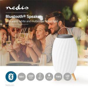 Nedis Bluetooth®-högtalare   60 W   Upp till 6 timmars speltid   True