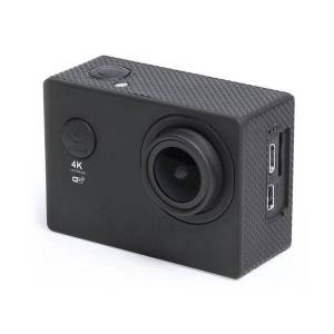 "BigBuy Tech Sportkamera 4K 2"" 360º WiFi (16 pcs) Svart"
