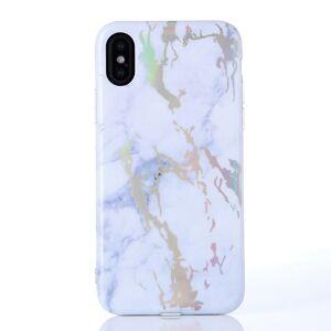 Your Case iPhone X/XS   Mjukt Marmorskal - Laser marble! Flera Färger
