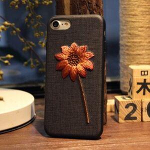 Apple iPhone 7/8 - Broderat Skal / Mobilskal - Blomma